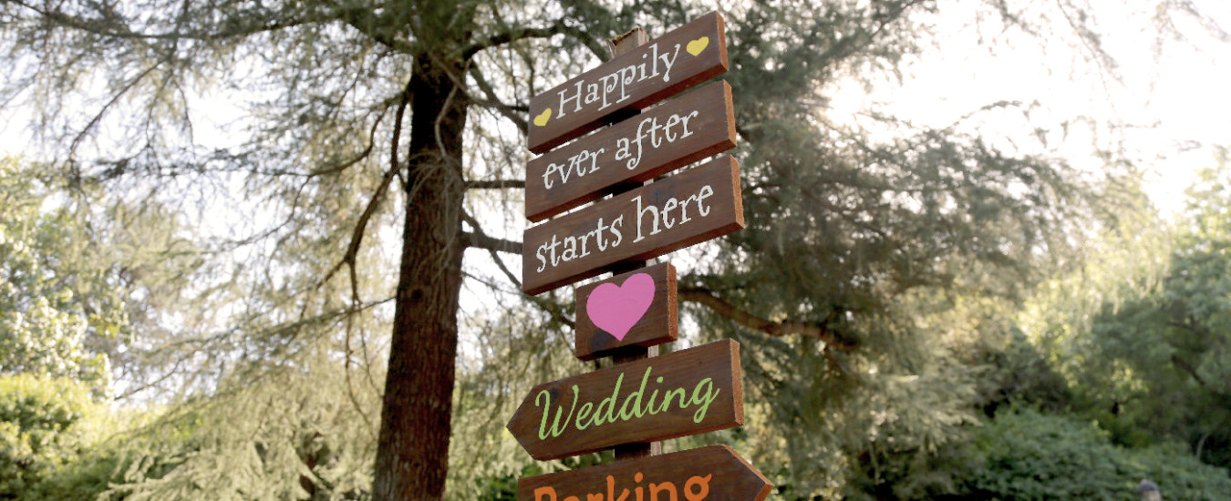 Kellogg House Wedding Sign