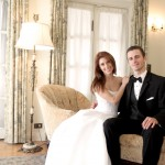 couple sitting down in room
