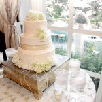 Wedding cake inside