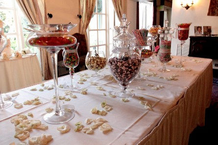 Kellogg House -indoor setup with candies